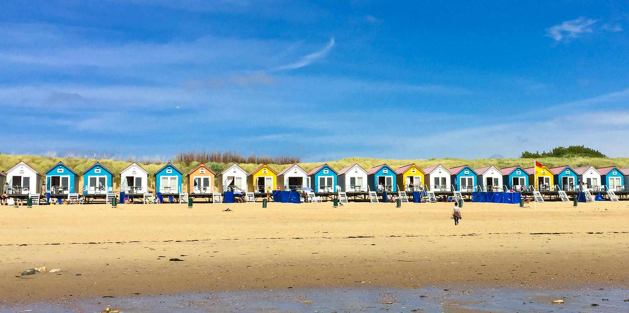 Nazomer vakantie aan de Zeeuwse kust